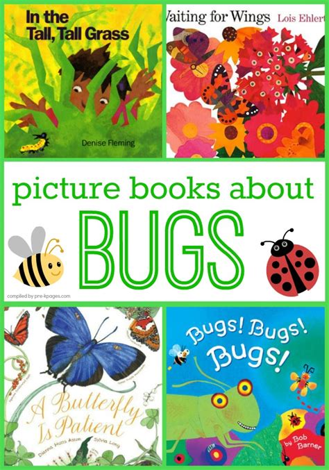 preschool picture books about bugs 740 | picture books about bugs