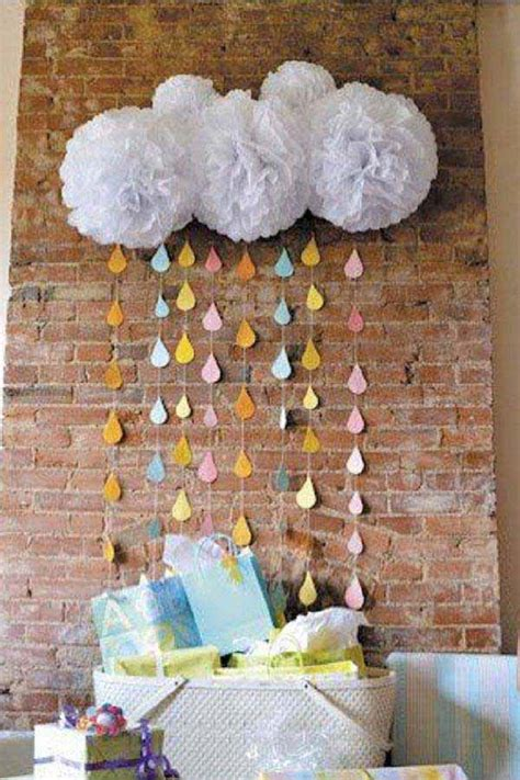 baby shower decor 22 low cost diy decorating ideas for baby shower