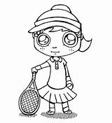 Coloring Tennis Pages Table Court Colouring Racket Printable Sports Popcorn Racquet Getcolorings Getdrawings Colorings Photograph sketch template