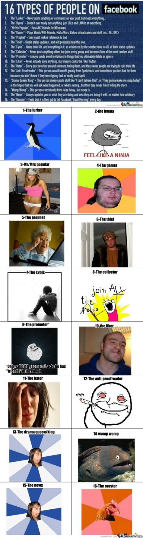 Types Of Memes - facebook memes type of people memes best collection of funny facebook memes type of people pictures