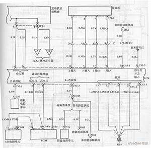 Automatic Transmission Circuit Of Hyundai Sonata With V6