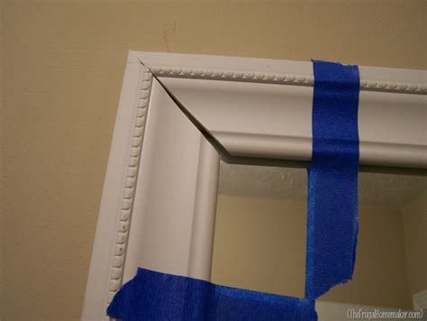 how to frame your bathroom mirrors beach inspired