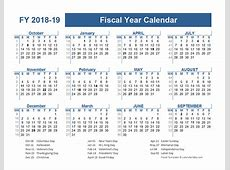 20182019 Fiscal Planner US Free Printable Templates