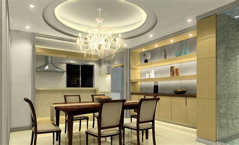 Gypsum Ceiling Designs For Dining Room  Home Combo