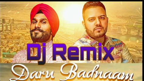[3.15 Mb] Download Mp3 Daru Badnaam Remix Kamal Kahlon