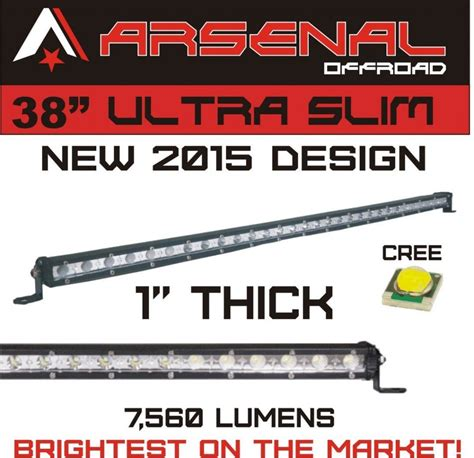best 38 inch led light bar reviews lightbarreport
