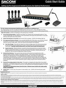 Sabine Ds80h Handheld Microphone User Manual Quick Start