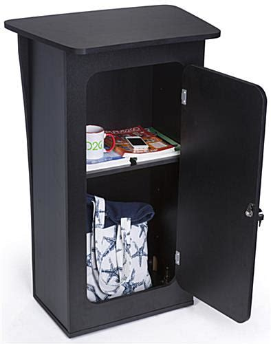 trade show storage cabinets knock down trade show counter height adjustable interior