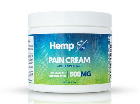 AM/PM Hemp Pain Relief Cream (500mg) | StackSocial