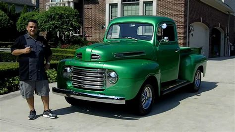 1950 ford f 1 pickup classic muscle car for sale in mi vanguard motor sales youtube