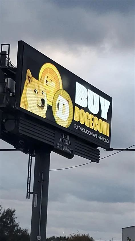 Dogecoin (doge) was created as a less boring jokey alternative to bitcoin in 2013. Dogecoin Billboard Ny Buy and sell dogecoin doge on yobit ...