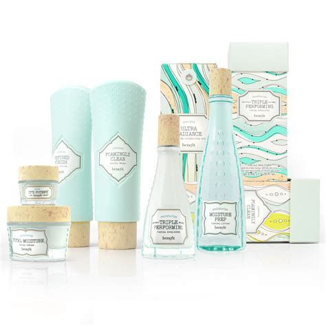 maesa designs skincare range for benefit inspired by 19th century apothecary bottles