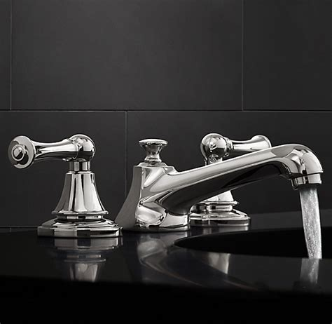 chatham lever handle  widespread faucet set