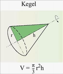 0 Stellen Berechnen : bestimmung des kegelvolumens mit der volumenformel ~ Themetempest.com Abrechnung