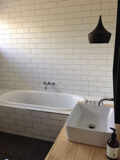 white bathroom tile  grey grout ideas  pictures