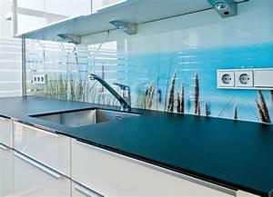 Wandverkleidung Küche Glas : k chen ~ Markanthonyermac.com Haus und Dekorationen