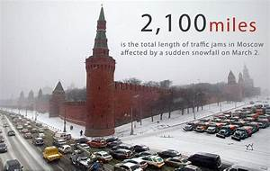Number of the week: Moscow traffic jams stretch all the ...