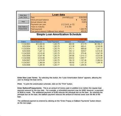 loan amortization table calculator loan amortization calculator template free download loan