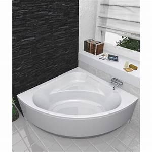 Tablier Pour Baignoire : tablier pour baignoire baline d 39 angle 140 x 40 cm bricozor ~ Premium-room.com Idées de Décoration