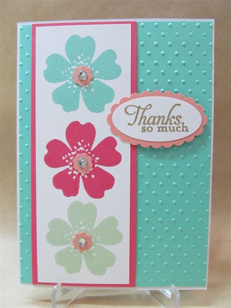 Savvy Handmade Cards Stampin' Up! 20132015 In Color Card