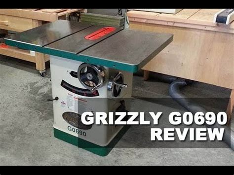 Grizzly Cabinet Saw G0690 by The Grizzly G0690 Table Saw Cabinet Saw Review 2017