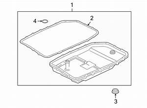 2006 Land Rover Lr3 Automatic Transmission Oil Pan Gasket
