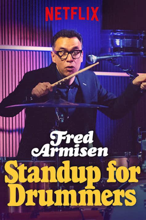 fred armisen standup  drummers
