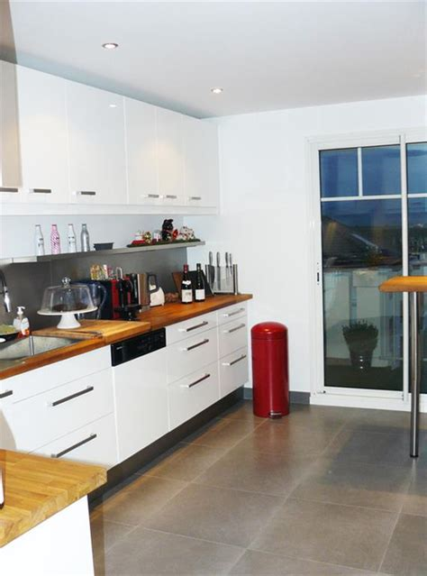 plan cuisine moderne davaus cuisine moderne plan travail bois avec des
