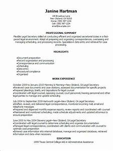 Legal Secretary Resume Template — Best Design & Tips