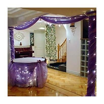 Reception Decorations Purple Decoration Decorating Party Decor
