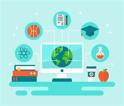 Global Education Exchange Vector Student Clipart System