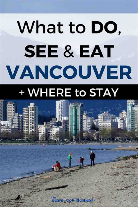 The Best Things To Do, See And Eat In Vancouver + Where To