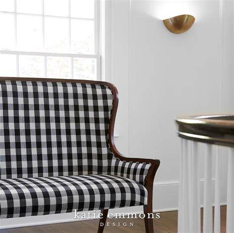black settee with brass nailhead trim design ideas