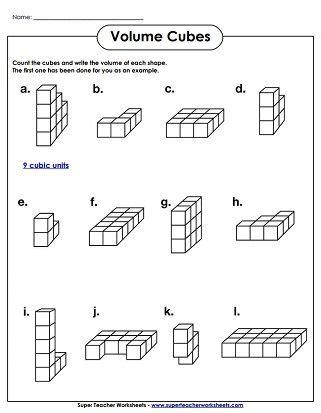 volume cubes worksheet easy wedding program ideas volume worksheets perimeter worksheets