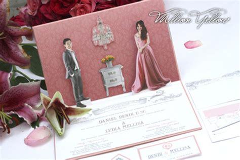 contoh undangan pernikahan unik  elegan gebeetcom