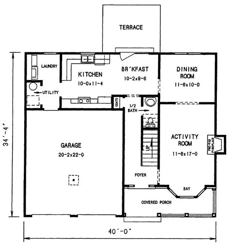 cottage house plan   bedrooms   baths plan