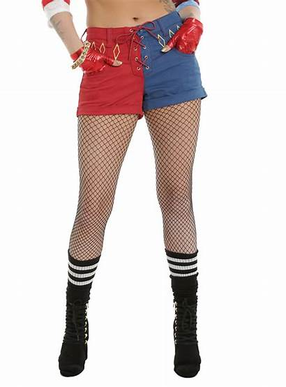 Quinn Harley Shorts Suicide Squad Dc Lace