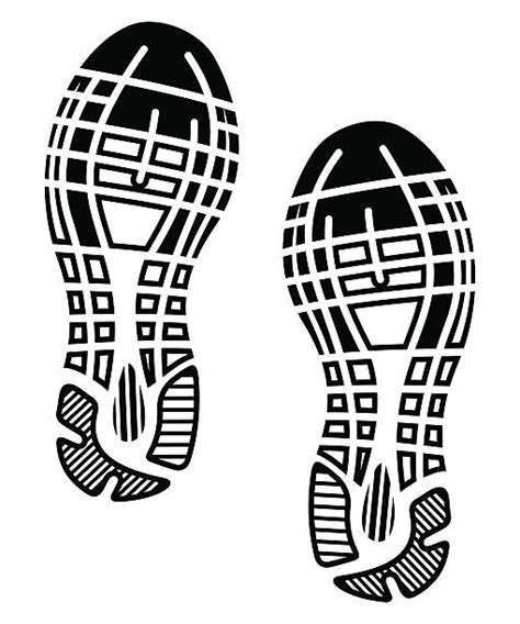clipart sole best shoe print illustrations royalty free vector