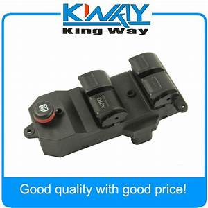 New Power Window Switch Master Control Switch For Honda