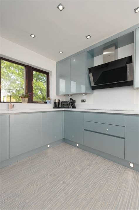 blue gloss kitchen cabinets 14 best images about kallarp on baking pans 4811