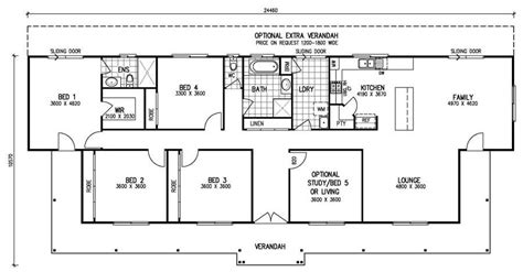 5 Bedroom Home Design Plans : Single Story 5 Bedroom House Plans Awesome