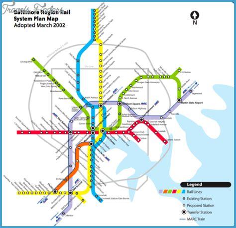 baltimore light rail map houston subway map travelsfinders