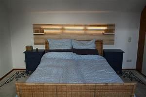 Bett Mit Licht : mandal und ledberg dezentes licht im schlafzimmer fuels fundgrube ~ Frokenaadalensverden.com Haus und Dekorationen