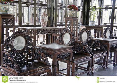chinese antique furniture stock photo image  culture