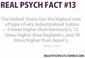 Real Psychology Facts
