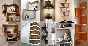 Fascinating, Corner, Shelves, To, Get, The, Most, Out, Of, Your, Space