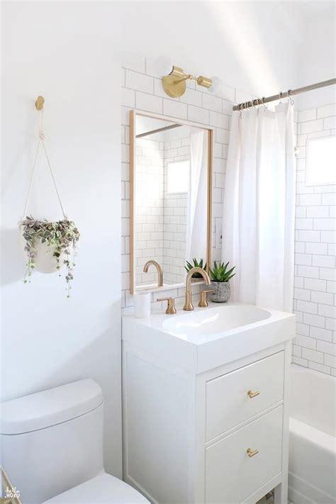 small white bathroom decorating ideas ikea yddingen washstand with ikea skogsvag mirror