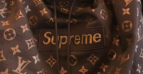 supreme  louis vuitton le prix des differentes pieces
