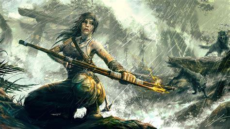 Tomb Raider 4k Wallpaper Wallpapersafari