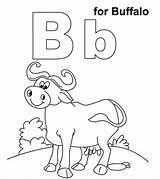Buffalo Coloring Momjunction Printable Animal Animals sketch template